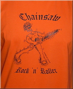 Motiv Chainsaw Rock n Roller orange